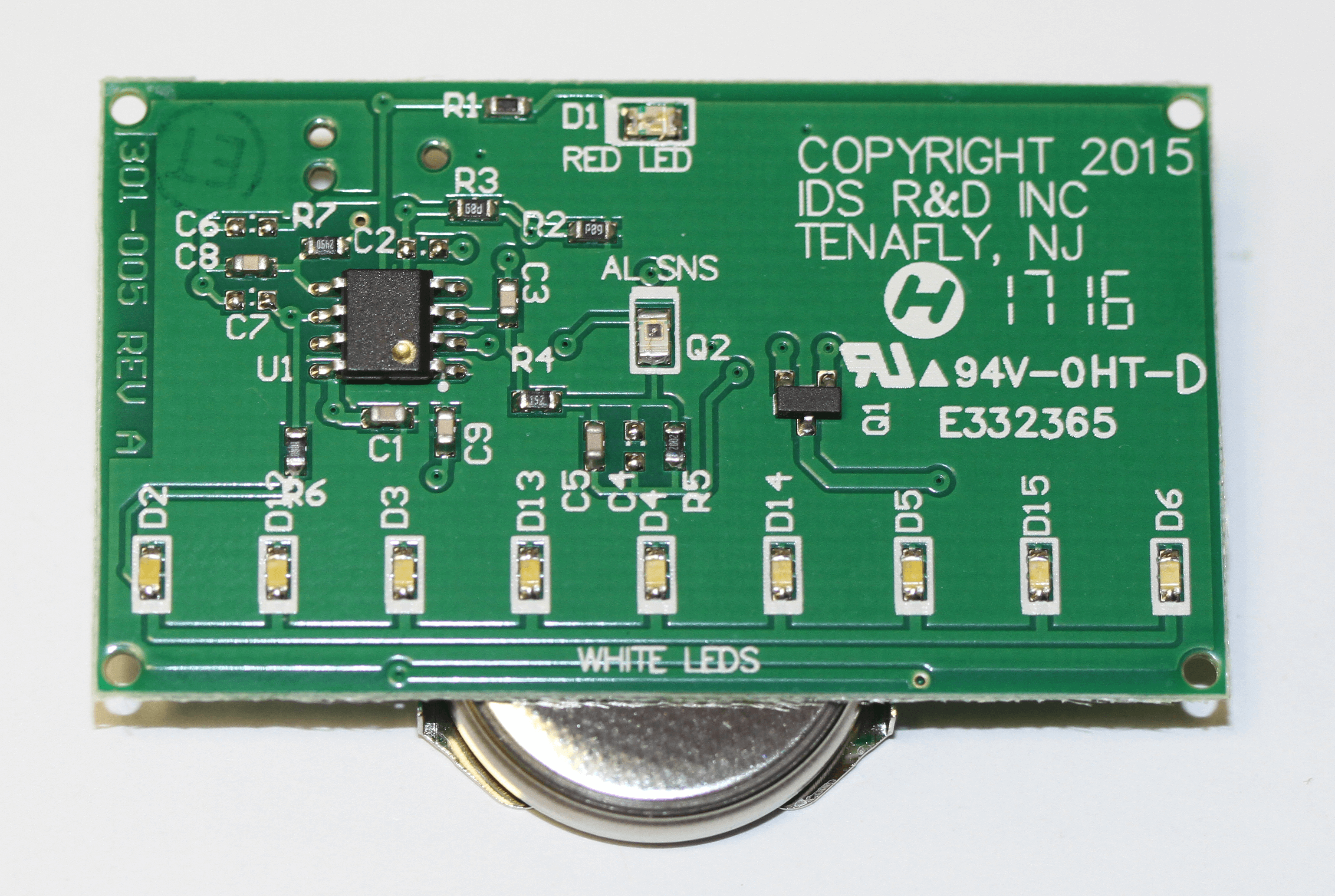 Microprocessor Based Circuit Board of the SmartDeterrent